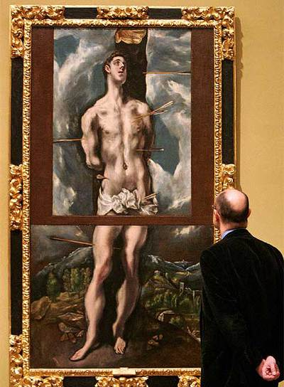 44. San Sebastian El Greco - Cuadros que se hicieron pedazos